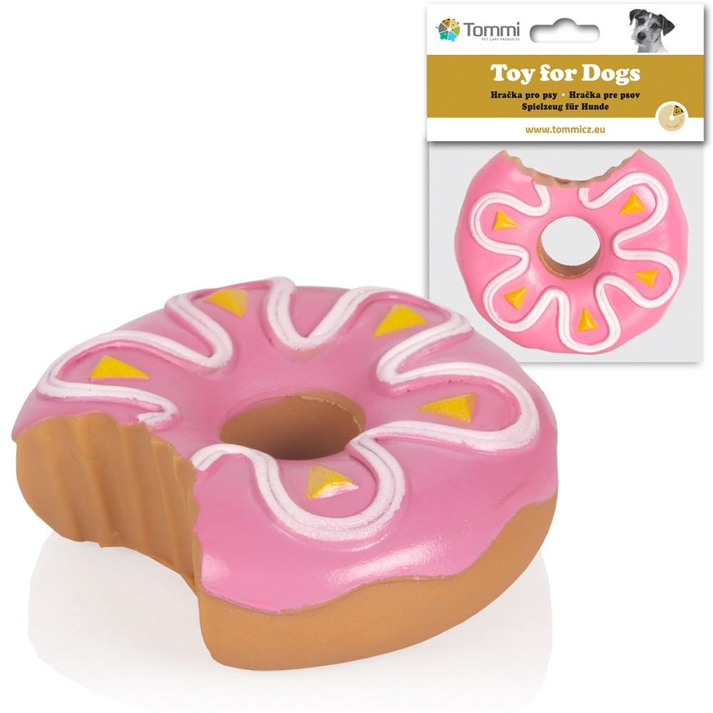01503 Doughnut Pink Icing Vinyl Toy 10cm Vinyl Tommiland
