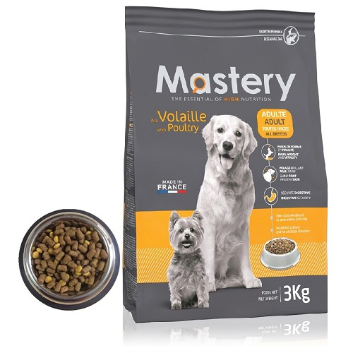 10172 Mastery DOG Adult with Poultry 3kg