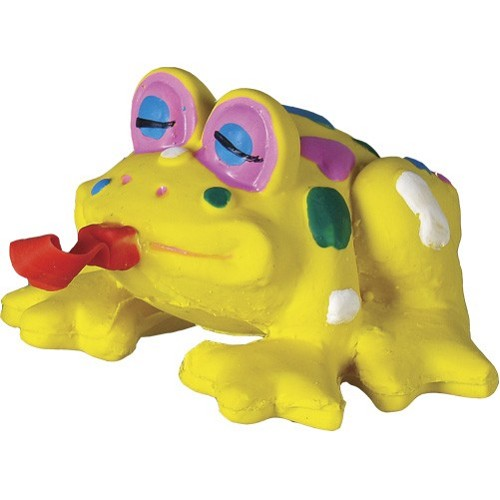 01584 Latex Frog with Moving Tongue 12 cm