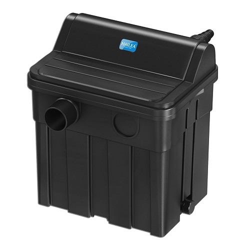 04085 Hailea G8000 pond filter with UVC