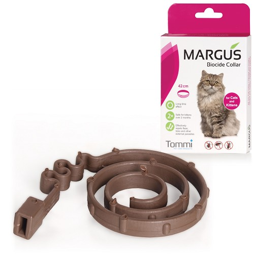 00053 MARGUS Biocide Collar Cat 42cm