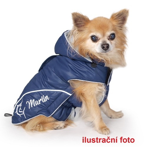 014136 Marlin vest with hood 45 cm