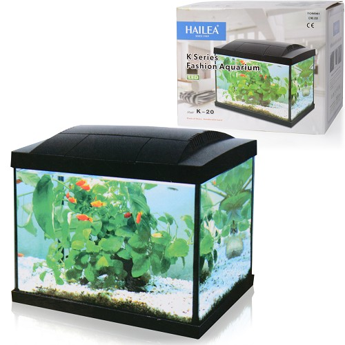 050891 Hailea LED aquarium K20 black