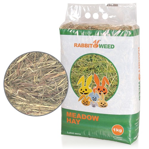 06263-1 Rabbit Weed meadow hay 1kg/4pcs/192