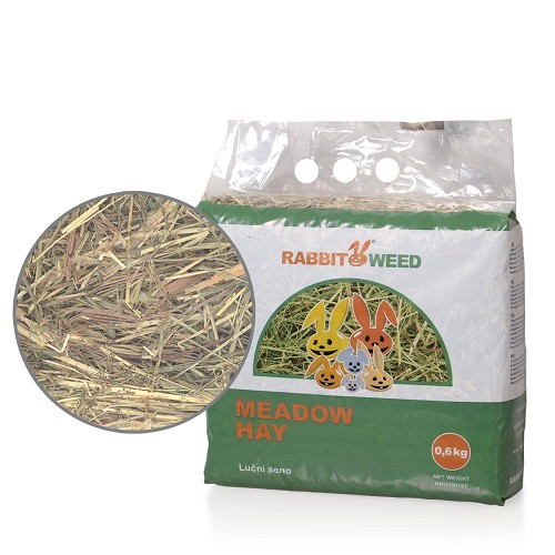 06263 Rabbit Weed meadow hay 0,6kg/4pcs/324