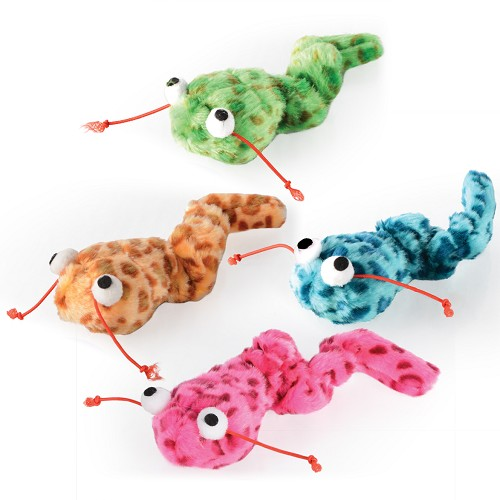 03179 Trembling worm 17cm toy for cats
