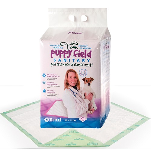 01236 Puppy Field Sanitary Pads 25 pcs/12