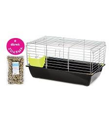 06343 Cage RABBIT 70 cm zinc / G079