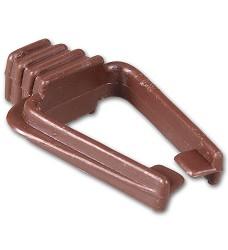 07313 Sepia bone holder  brown colour (E6016)