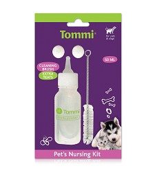 01231 Puppy nursing kit 50ml (incl. brush and spare teat)
