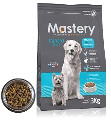 10175 Mastery DOG Adult with Duck 3kg