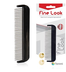 01900 Fine Look comb with rotating teeth