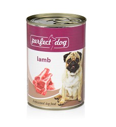 090307 Perfect Dog Adult Lamb 400g/6