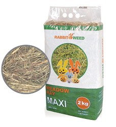 06263-2 Rabbit Weed meadow hay 2kg/3pcs/144