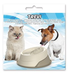 01701- 2 Filter fo Fountain TREVI 4pcs/pack