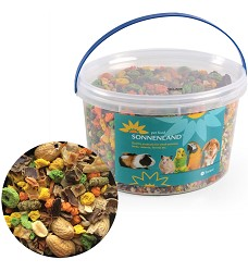 05994 Sonnenland Nutty food for rodents 1,11kg, 3l