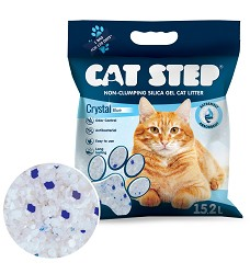 03544 Cat Step Crystal Blue 6,68kg 15,2l / 3