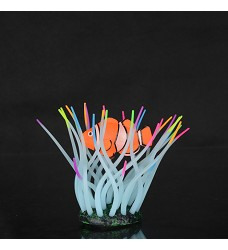 04755 Aqua LUMO Sea Anemone with Clown Fish