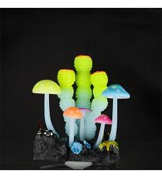 04762 Aqua LUMO Coral Sponge Flower
