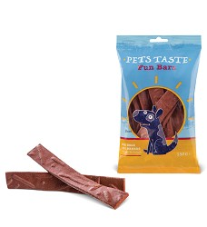 00434 Pets Taste F.B. Beef Strips 150g/12
