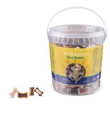 00439 Pets Taste Bucket Duo Bones 450g/6