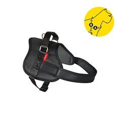 02162 Professional Dog Harness Tommi S black