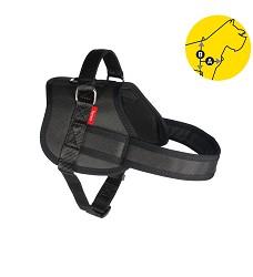 02163 Professional Dog Harness Tommi M black