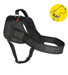 02164 Professional Dog Harness L black