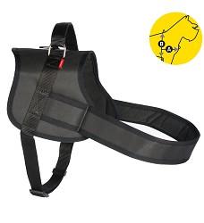 02165 Professional Dog Harness Tommi XL black