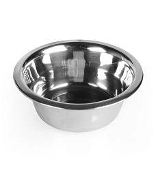 017381 Stainless steel bowl standard 0,35l /wide rim