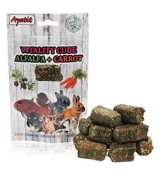 05976 Apetit Vitality cube pressed alfalfa, carrot 150g/12