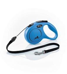 02805-23 flexi New Classic M Cord 5m/20kg blue