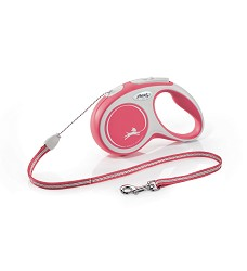 02806-14 flexi New Comfort S Cord 5m/12kg red