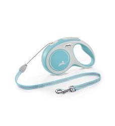 02806-22 flexi New Comfort S Cord 8m/12kg light blue