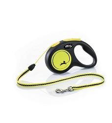 02807-12 flexi New Neon S Cord 5m/12kg yellow