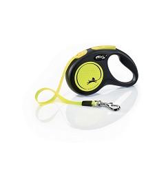 02807-31 flexi New Neon S Tape 5m/15kg yellow