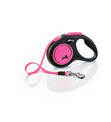 02807-33 flexi New Neon S Tape 5m/15kg pink