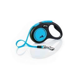 02807-34 flexi New Neon S Tape 5m/15kg blue