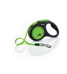 02807-35 flexi New Neon S Tape 5m/15kg green