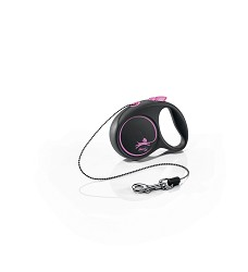 02804-13 flexi Black Design XS Cord 3m/8kg pink