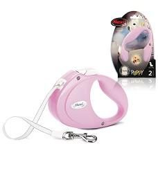 02832-2 flexi Puppy S Tape 2m/12kg pink