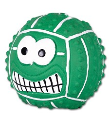 015961 Latex smiley handball GREEN