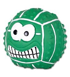 015961 Latex smiley handball GREEN