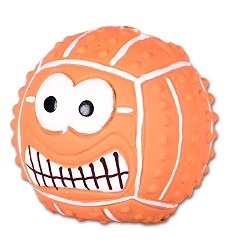 015962 Latex Smiley Handball ORANGE