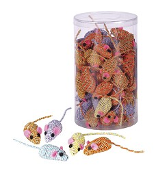 03146 Mice Twisty/60pcs in tube