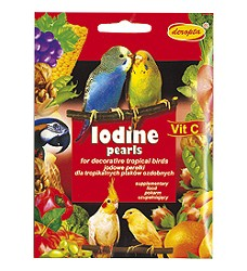 07285 IODINE PEARLS for exotic birds 50 g