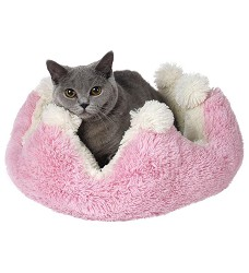 01032 Pet´s Bed Princess pink/white