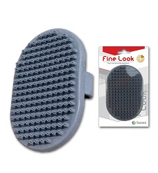 01841 Fine Look Oval Hand Brush 13x9cm