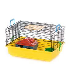 06304 Cage TEDDY EKO house,bowl/G011E