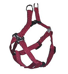 022431 Nylon adjustable harness with clip XS 30cm